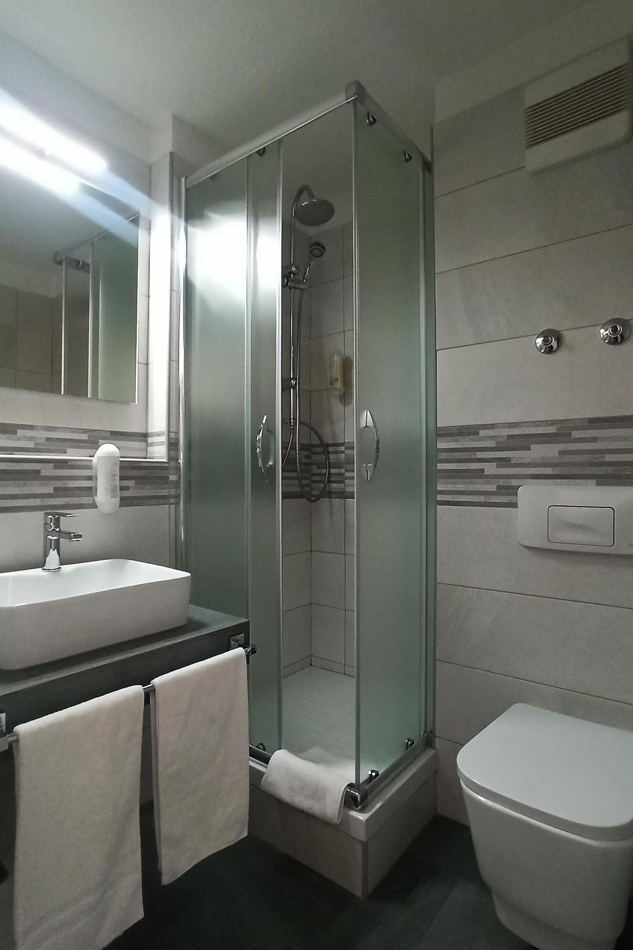 Hotel Arcis DZ Dusche 1